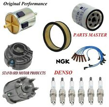 Tune Up Kit Filters Cap Wire Spark Plugs For ISUZU RODEO V6 3.1L 1991-1992