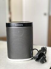 Sonos play:1 Wireless Speaker w/ Power Cord - Black/Gray