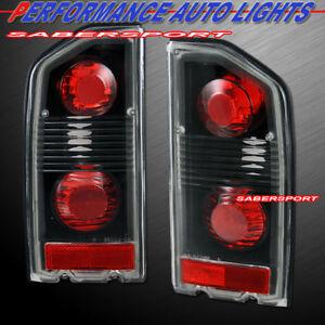 Set of Pair Black Altezza Style Taillights for 1989-1998 Suzuki Sidekick