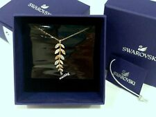 Mayfly Pendant, LEAVES ROSE GOLD-PLATED Swarovski Crystal Authentic MIB 5409340