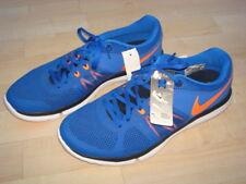 Coole Original Nike Flex Run Laufschuhe in Blau-Orange, Gr. US 9 / EUR 42,5 NEU!