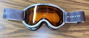 Smith Ski/Snowboard Goggles - Grey With Orange Lenses