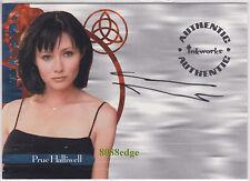 2000 INKWORKS CHARMED AUTO #A1:SHANNEN DOHERTY/PRUE HALLIWELL-BRENDA WALSH 90210