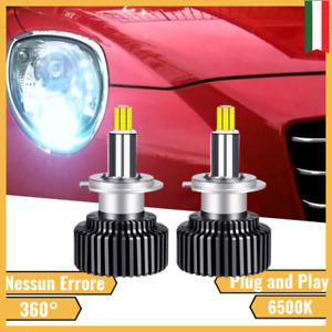 LAMPADE LED MITO 360° ANABBAGLIANTE ALFA ROMEO SPECIFICO LENTICOLARE CANBUS H7