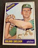 1966 Topps # 18 Roland Sheldon - A's