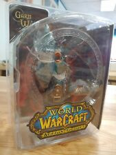 Garm Whitefang DC Unlimited: World of Warcraft, Blizzard Action Figure New