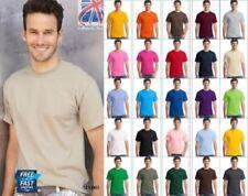 Camisetas de hombre de manga corta multicolor sin marca