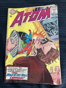 ATOM  #18  SILVER AGE  DC COMICS  1965 DETACHED COVER GOOD
