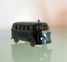 Wiking VW Bus POLIZEI Made in Germany 1:87