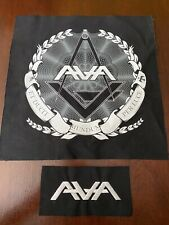 Angels and Airwaves Freemason Patch Ava Logo Tom Delonge Blink 182
