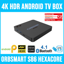 Orbsmart S86 4K (UHD) HDR10+ & 3D Android 9.0 TV Box / Mini PC / MKV MediaPlayer
