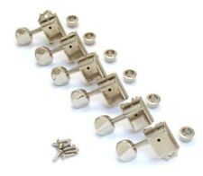 Lefty GOTOH 6 In-Line Vintage Tuner Tuning Machine Nickel for Strat Tele Guitar