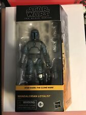 "Star Wars Black Series Mandalorian Loyalist 6"" Figure IN HAND Walmart Exclusive"