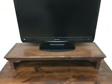 TV Riser/Laptop/Soundbar Stand Traditional Alder