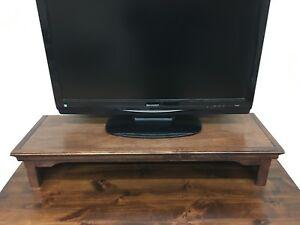 TV Riser/Laptop/Soundbar Stand Traditional Alder