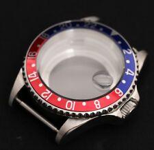 GMT Pepsi Watch Case Fits Movements  Miyota 8215  ST1612 Shanghai RK-4D Movement