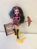 Monster High - Freaky Fusion - Dracubecca With Accessories Complete Set