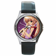 Anime kodomo no jikan watch leather wrist watch