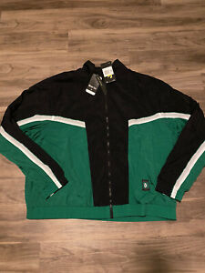 Nike Boston Celtics Courtside NBA Tracksuit Jacket Black Green Sz 2XL CI1433-312
