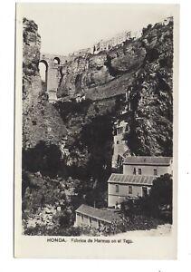 Vintage RP postcard Ronda - Fabrica de Harinas en el Tajo, Spain.