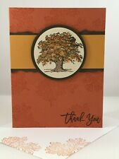 Stampin Up handmade card - Lovely as a Tree thank you