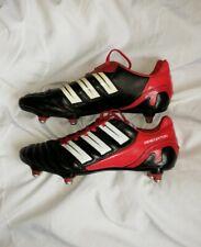 Adidas Adipower Adi power Predator SG  Size UK 7 EU 41 black and red