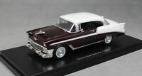 Neo Models Chevrolet Bel Air Sport Coupe in Burgundy & White 1956 47035 1/43 NEW