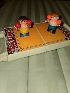 vintage TOMY - Bumbling BOXING w both white knob wind up BOXERS,
