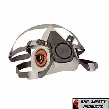 3M HALF MASK REUSABLE RESPIRATOR 6100 SIZE SMALL (MASK ONLY) FREE SHIPPING!