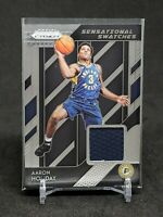 2018-19 Prizm Aaron Holiday RC, Rookie Patch Sensational Swatches, Pacers