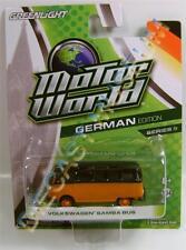 VOLKSWAGEN VW PANEL VAN SAMBA BUS MOTOR WORLD 9 GLEENLIGHT GL DIECAST