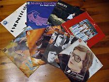LOTTO 8 DISCHI VINILE MUSICA ITALIANA ANNI 60-70 45 GIRI VEDI ELENCO
