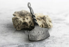 Hand-Forged Twisted Steel Thor's Hammer Pendant - Simple Design - Norse/Odin/M