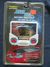 1993 Star Trek Next Generation LCD Video Game Mint In Package Tiger Electronics