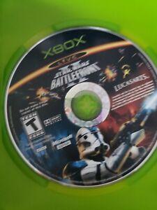 Star Wars: Battlefront II [2] (Original XBOX, 2004) Game *Disc Only