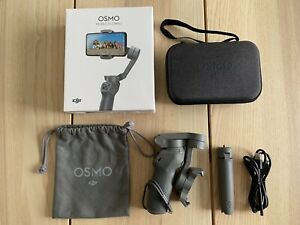 DJI Osmo Mobile 3 Combo Smartphone Gimbal Stabilizer - Boxed In Mint Condition
