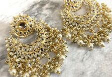 Kundan Jhumka Indian Earrings Jhumki Kundan Jewelry Bollywood Jhumka Gold USA