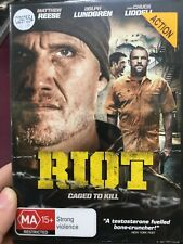 Riot ex-rental region 4 DVD (2015 Dolph Lundgren / Chuck Liddell action movie)