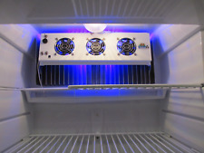 Norcold Evaporator Fan makes  unit frost free  with LED light & 3 Fans 15.7 wide