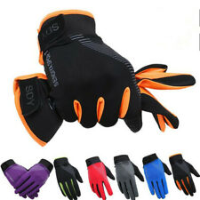 Bike Bicycle Gloves Full Finger Touchscreen MTB Cycling Sport Breathable Mittens