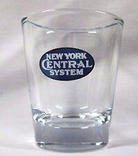 N.Y. CENTRAL SYSTEM   RAILROAD  LOGO SHOT GLASS