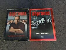 The Sopranos VHS Tapes 2 Boxed Sets Season 2 and 3 James Gandolfini 1999-2001