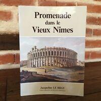 Jacqueline Il Bray Promenade All'Interno Di Il Vecchio Nîmes 1986