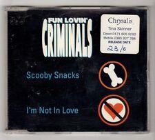 (HA713) Fun Lovin' Criminals, Scooby Snacks - 1997 DJ CD