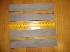 4 KANGAROO TAIL LEATHER VEG TANNED STRIPS 300mm x 50mm attractive colour strop