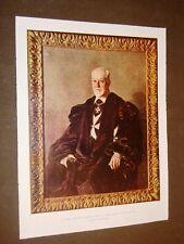 Ludovico Chigi Albani della Rovere nel 1934 Gran Maestro dell'Ordine di Malta