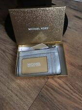 💕 Michael Kors small purse wallet silver ☃️