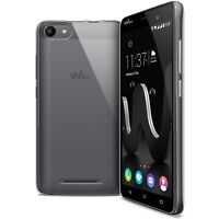 Coque Pour Wiko Jerry Crystal Souple TPU Gel Transparent Extra Fin 1mm
