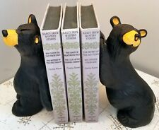 Big Sky Carvers BEARFOOTS Bookend Bears Black Bear Collection Jeff Fleming
