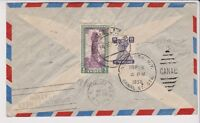 INDIA Airmail Cover to USA RETURNED TO SENDER of 1950